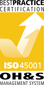 Best Practice Certification ISO 45001 OH&S Management System
